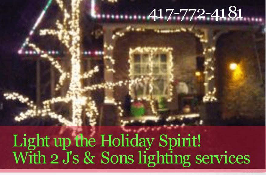 Porch Holiday Lighting