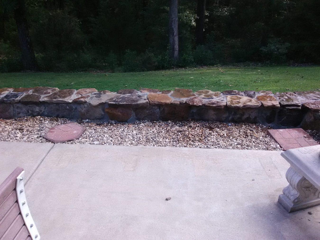 hardscape block retaining wall