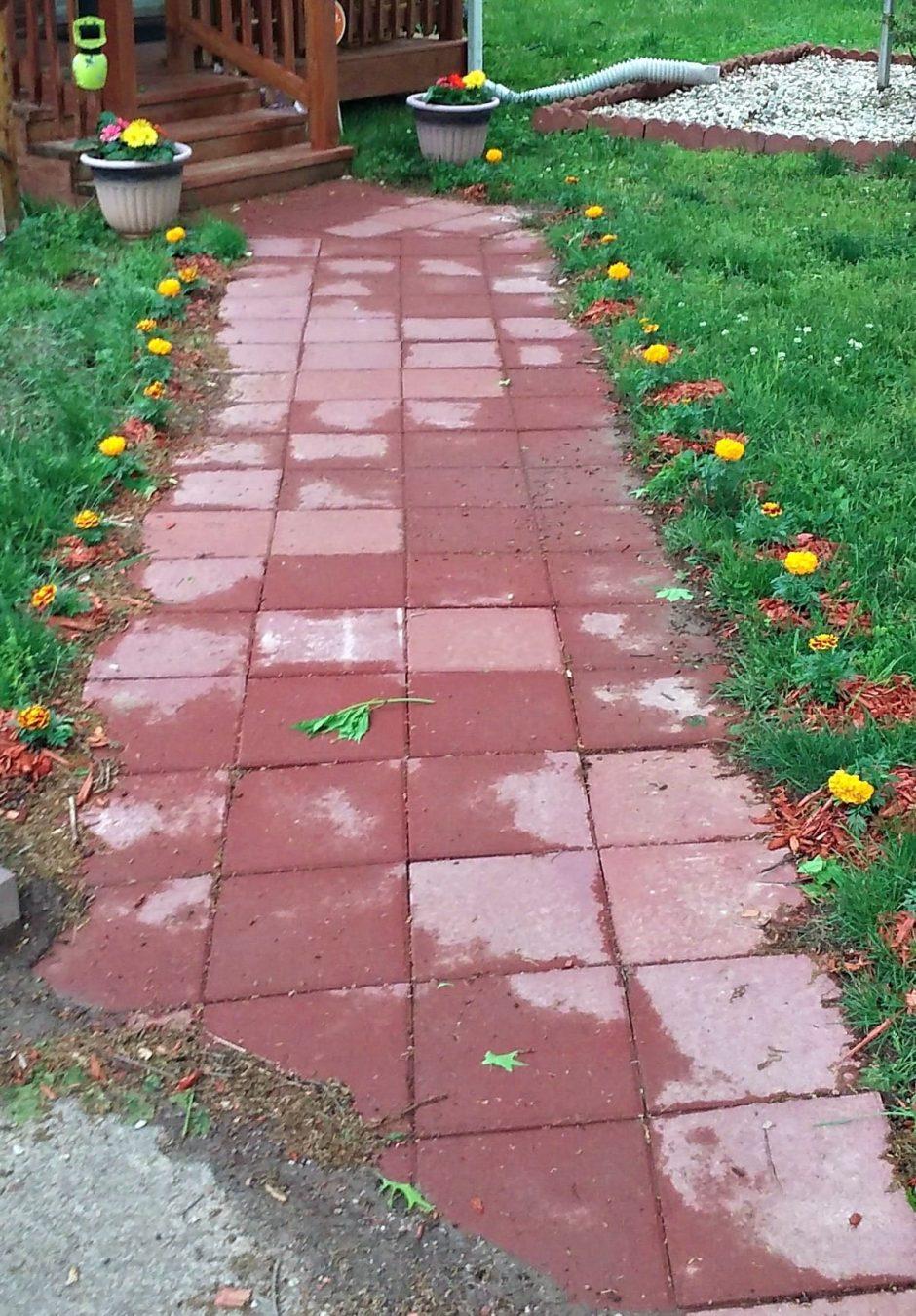 hardscape sidewalk