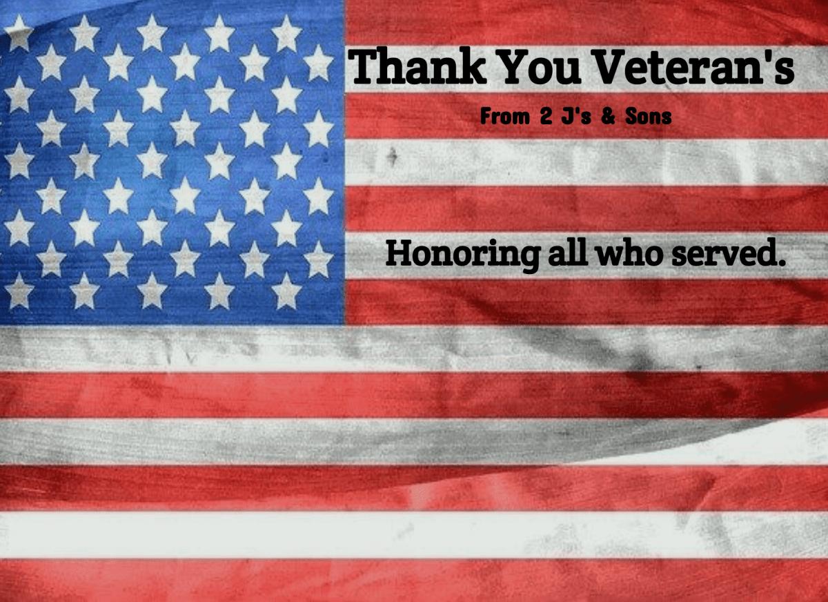 Honoring Veteran's